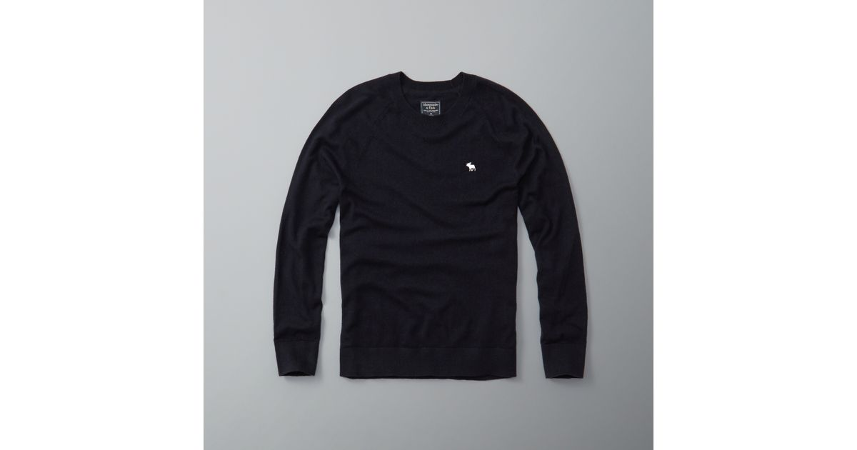 Abercrombie And Fitch Clothing Abercrombie And Fitch Hoodies Abercrombie And Fitch Jackets Abercrombie And Fitch Sweater: Abercrombie & Fitch Cashmere Blend V-neck Jumper In Blue
