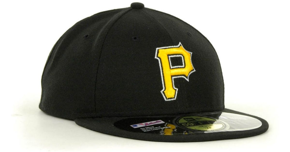 Lyst - KTZ Pittsburgh Pirates Low Crown Ac Performance 59Fifty Cap in Black  for Men cbfe8cdd6ac8