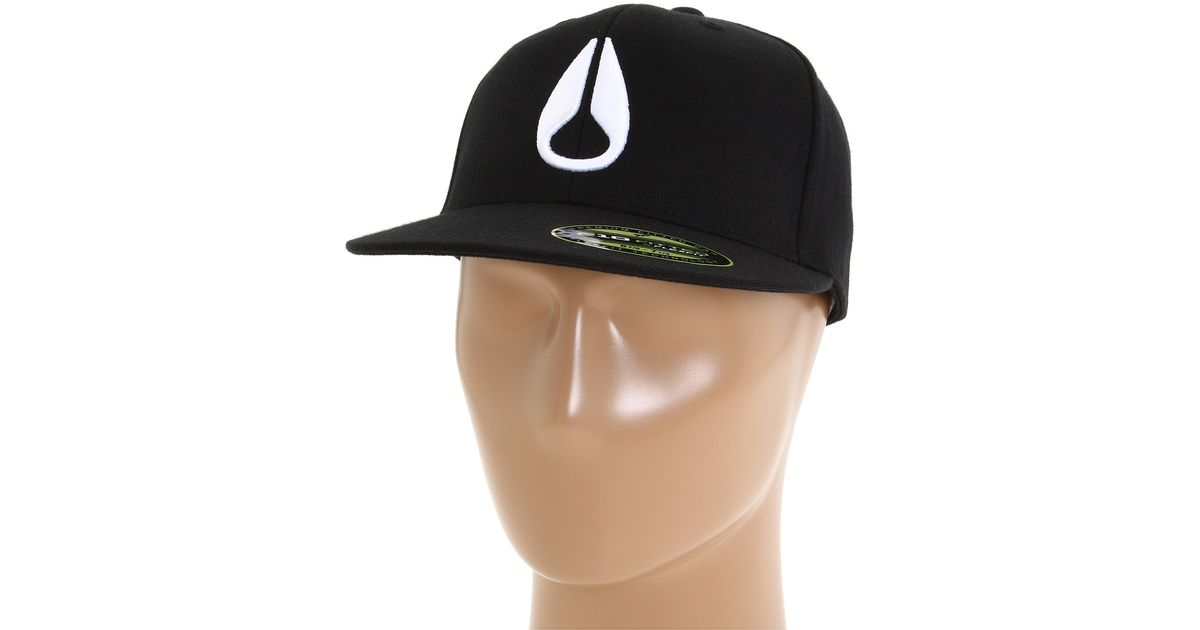 Lyst - Nixon Deep Down Flexfit 210 Fitted Hat in Black for Men c50575deabb6