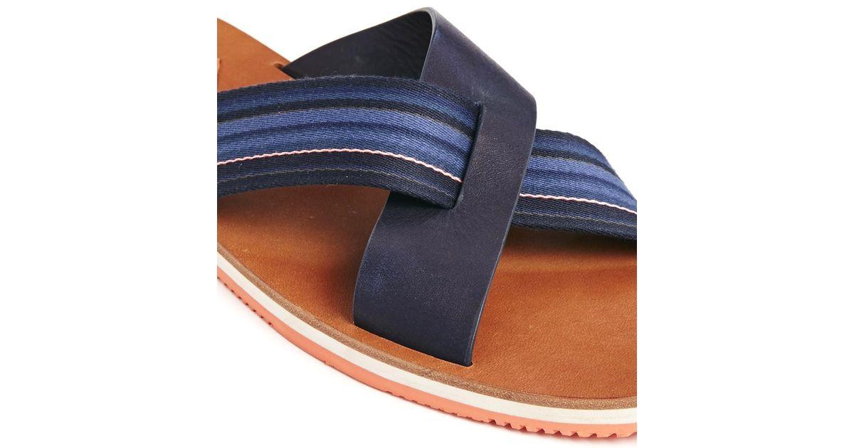 b7025a26f081 Lyst - Paul Smith Kohoutek Sandals in Blue for Men