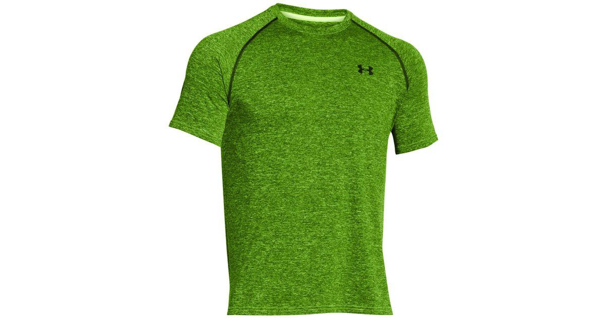 8f44a138 Under Armour Men's Tech T-shirt in Green for Men - Lyst