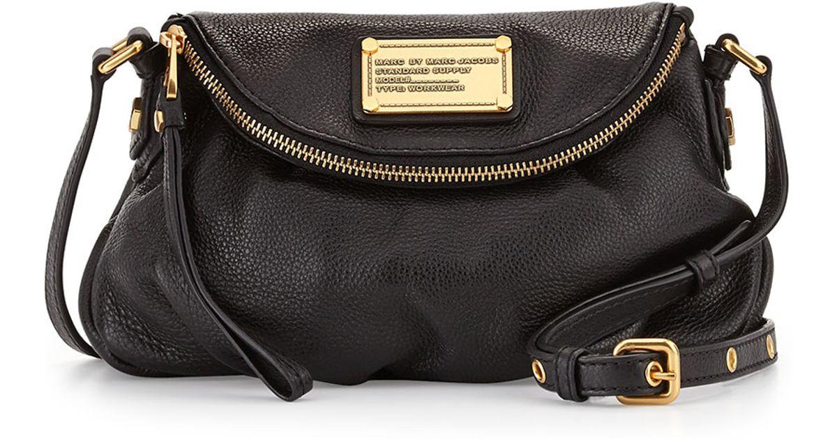01d852576cd6 Lyst - Marc By Marc Jacobs Classic Q Natasha Mini Crossbody Bag in Black