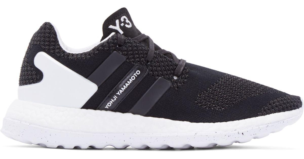 1258286117da Y-3 Pure Boost Zg Knit Sneakers in Black for Men - Lyst