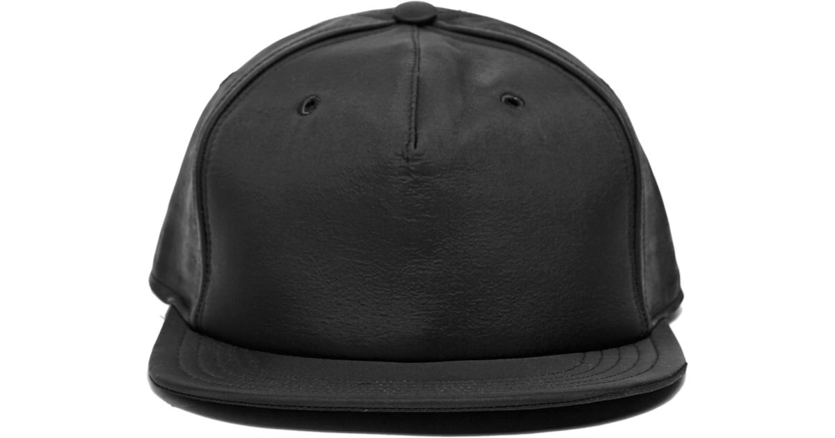c2a86b79e2b Lyst - DRKSHDW by Rick Owens Cappello Hat Combo 13 in Black for Men