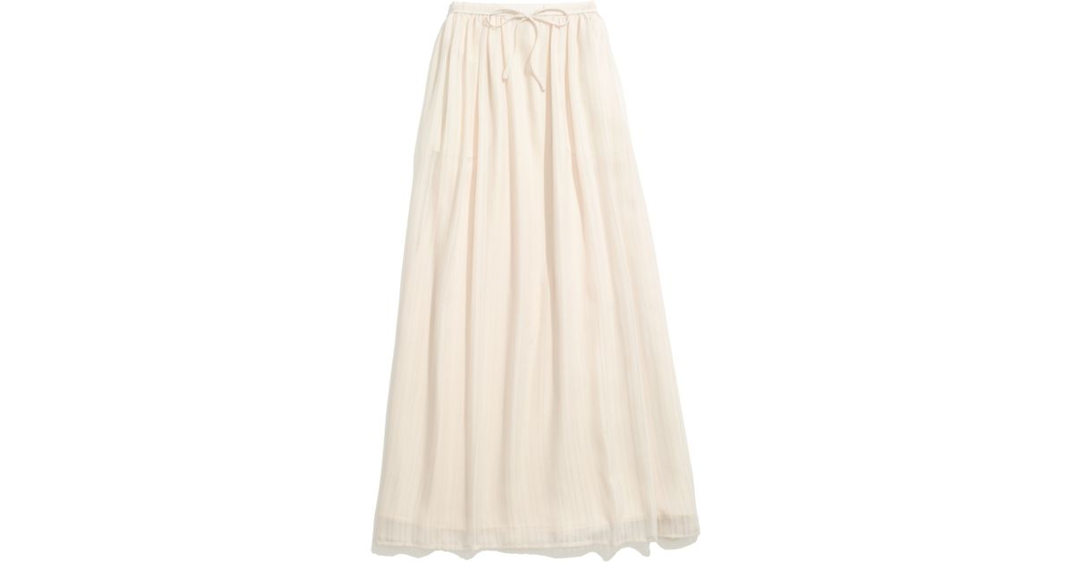 7a4f501f1 Lyst - Madewell Skyward Skirt in White