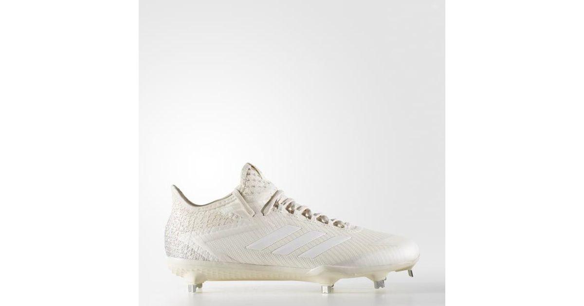 a7a02c1eba7b15 Lyst - adidas Adizero Afterburner 4 Cleats in White for Men