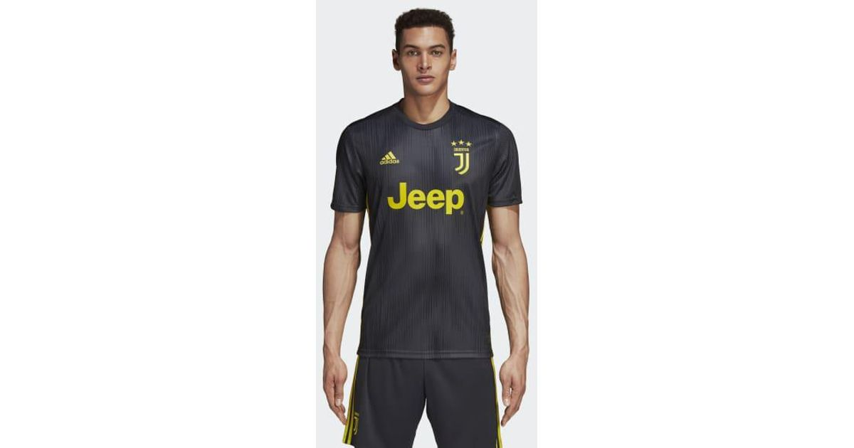 ca8a5b2eb40 adidas Juventus Third Jersey in Gray for Men - Lyst