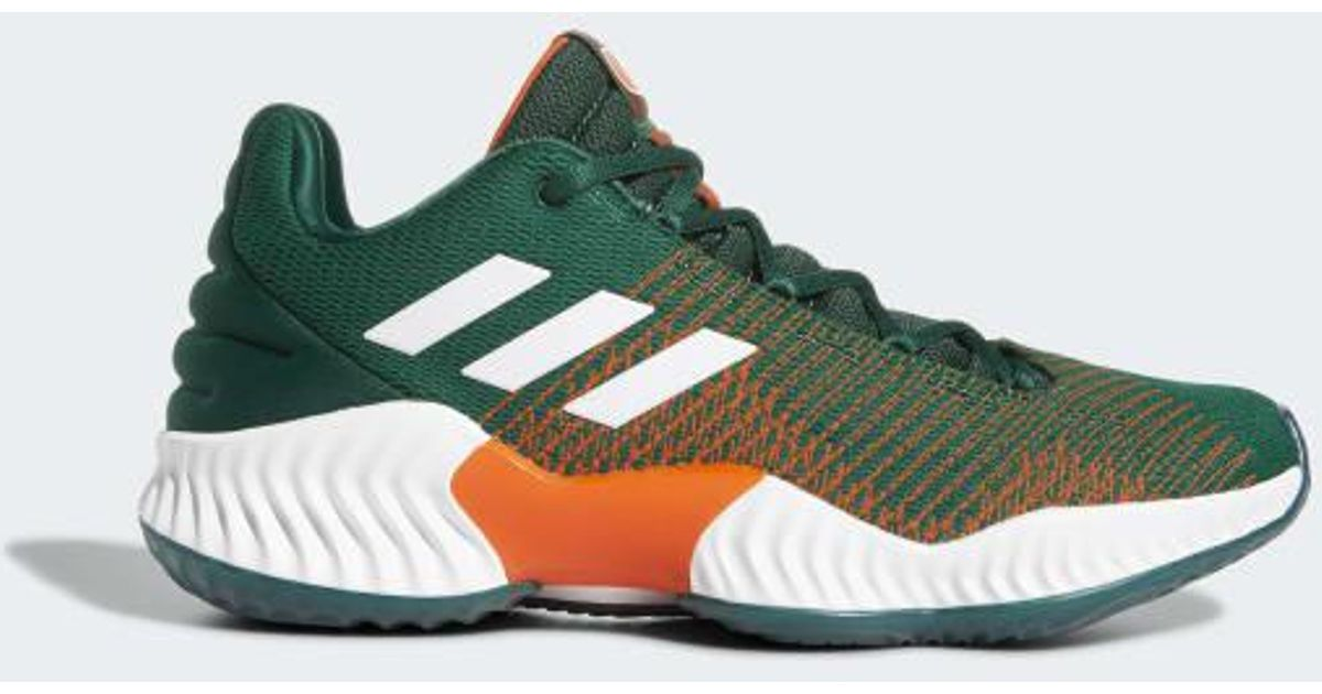 6eee4ebce Lyst - adidas Pro Bounce 2018 Low Shoes in Green for Men