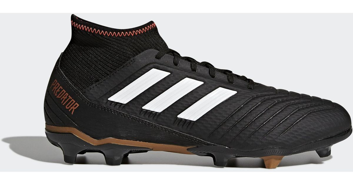 95e8eff60 Lyst - adidas Predator 18.3 Firm Ground Cleats in Black for Men