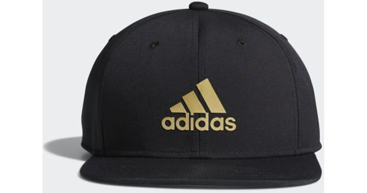 Lyst - adidas Emoji Snapback Hat in Black for Men 3756e0d0ee4c