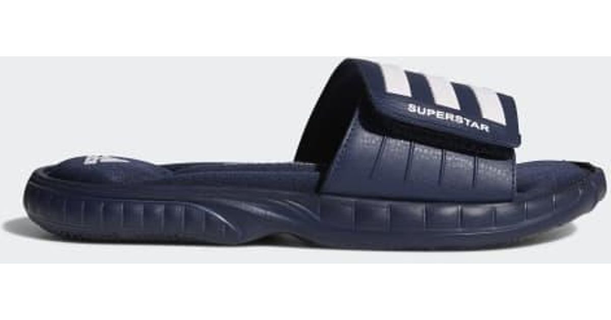 c5c8a5bee94a Lyst - adidas Performance Superstar 3g Slide Sandal in Blue for Men