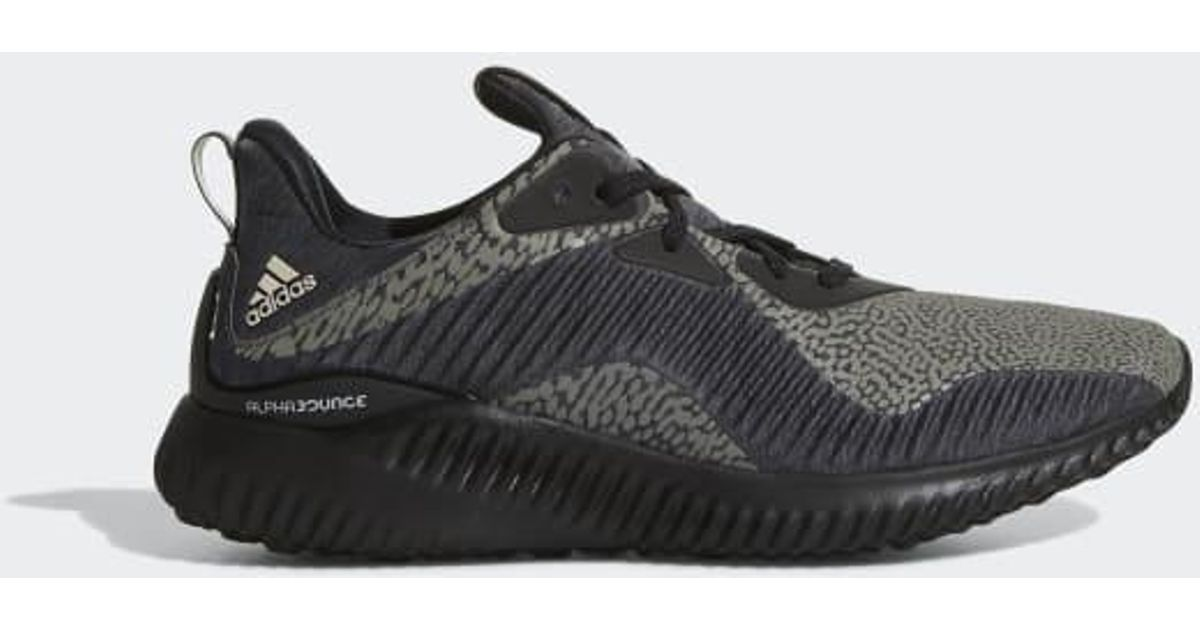 new arrival 6b9cd df062 Adidas - Black Alphabounce Reflective Hpc Ams Shoes for Men