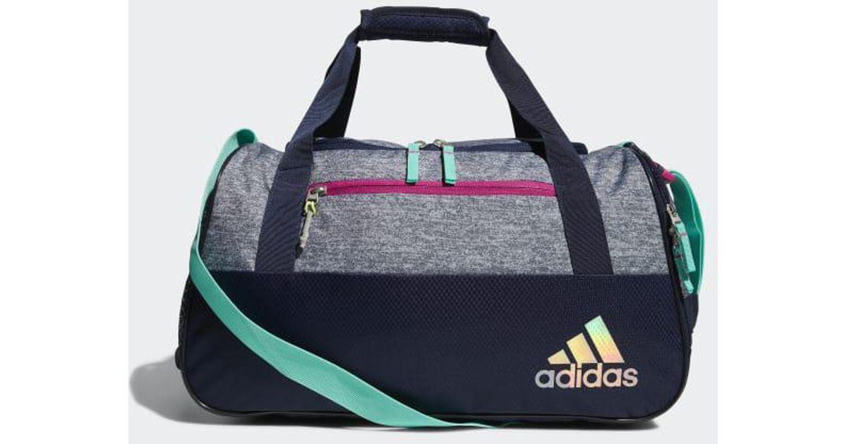 Lyst - adidas Squad 3 Duffel Bag in Gray adae1479fd094