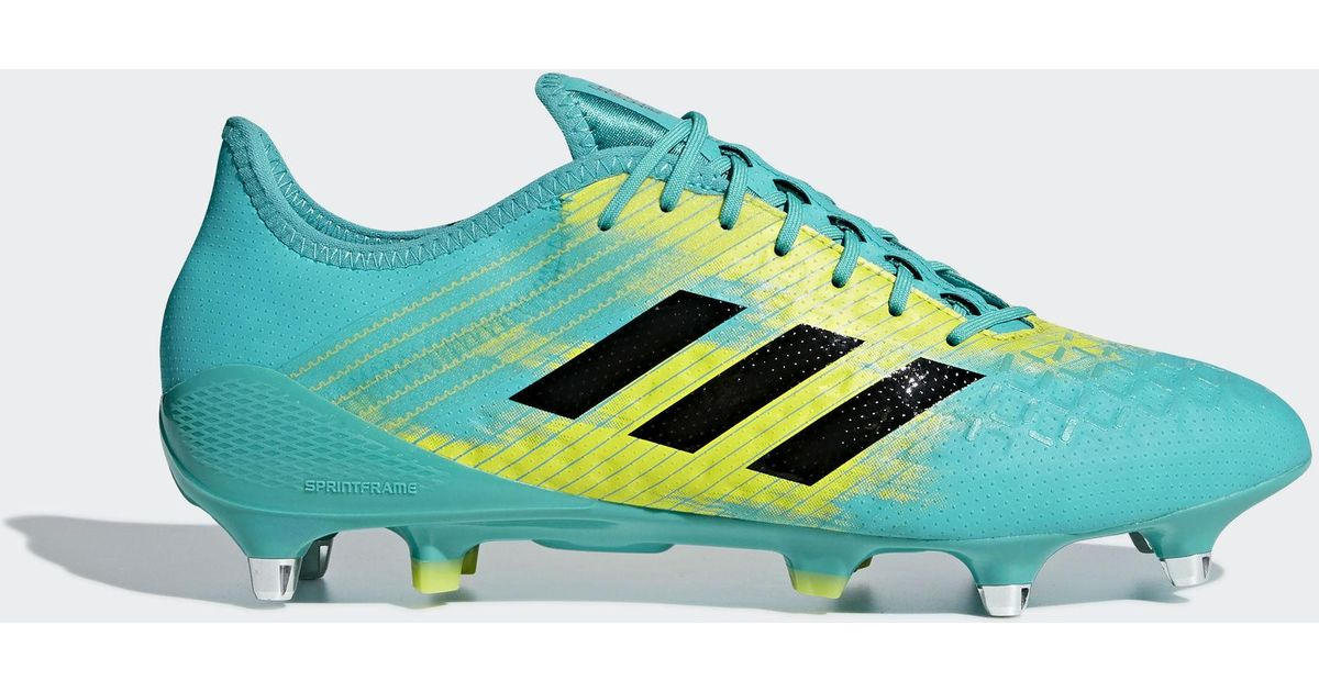 a2b84f456157a4 adidas Predator Malice Control Soft Ground Boots in Blue for Men - Lyst