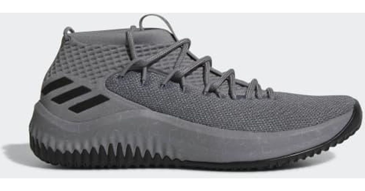 size 40 cb5bc 22b14 Lyst - adidas Dame 4 Shoes in Gray for Men