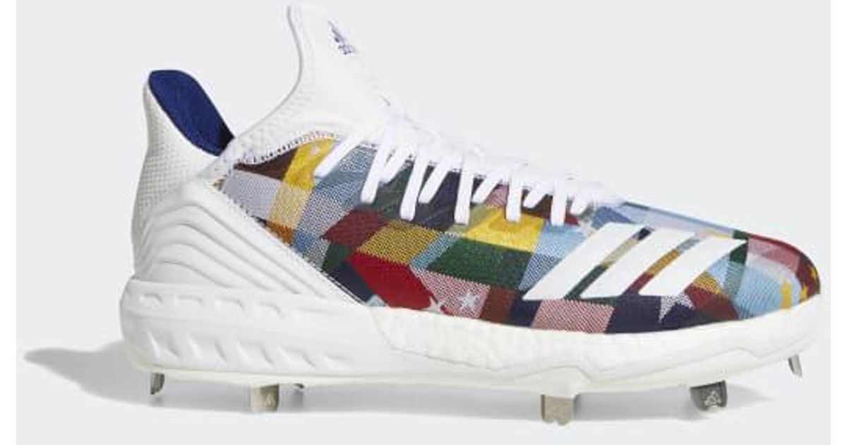 7f787dc2cbf6 adidas Boost Icon 4 Nations Cleats in White for Men - Lyst
