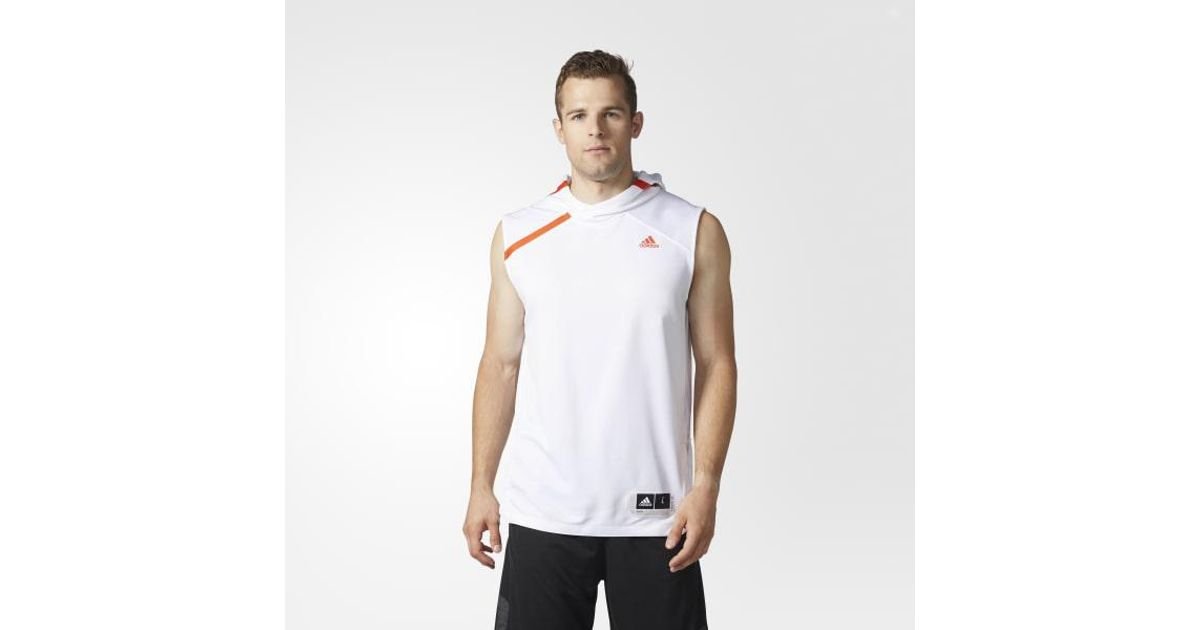 53559273dac78 Lyst - Adidas Hurricanes Shooter Hoodie in White for Men