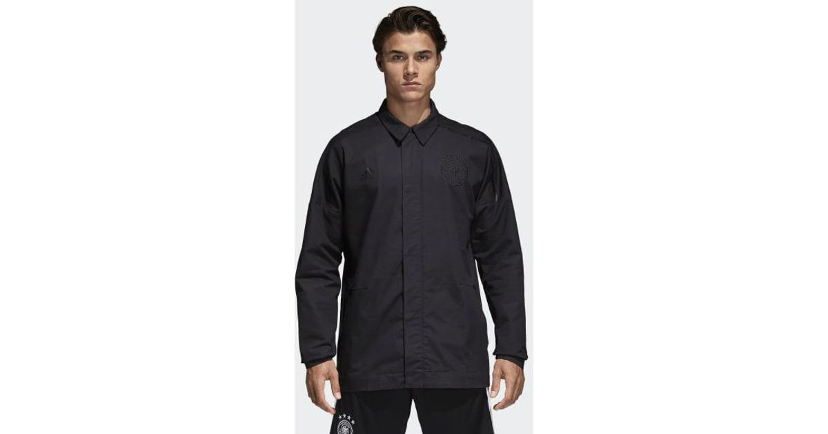 d5ac386664cc Lyst - adidas Germany Z.n.e. Anthem Jacket in Black for Men