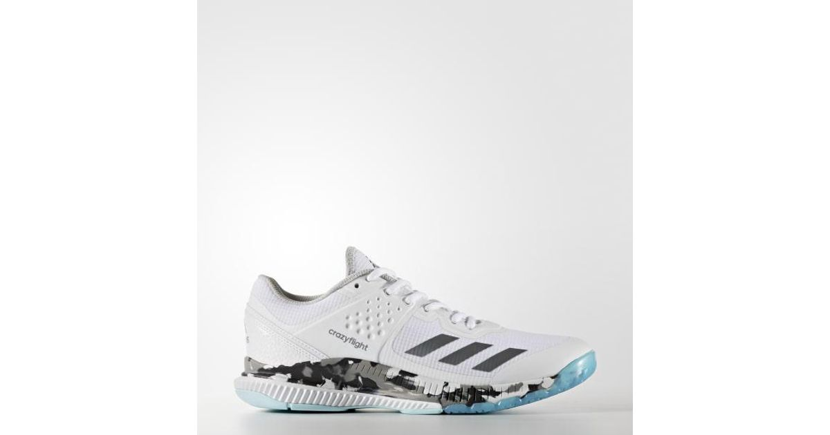 2a57fd119 Lyst - adidas Crazyflight Bounce Shoes in White for Men