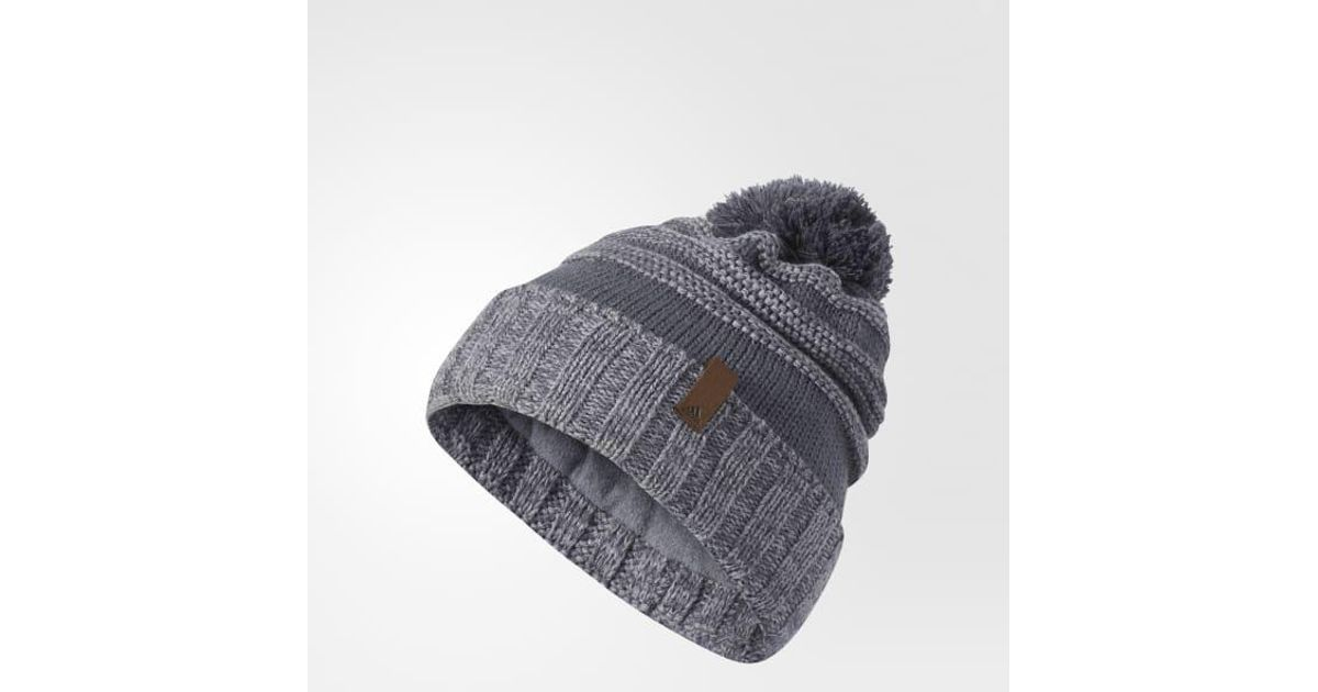Lyst - adidas Recon Beanie in Gray for Men 3cf45a7bbb4d