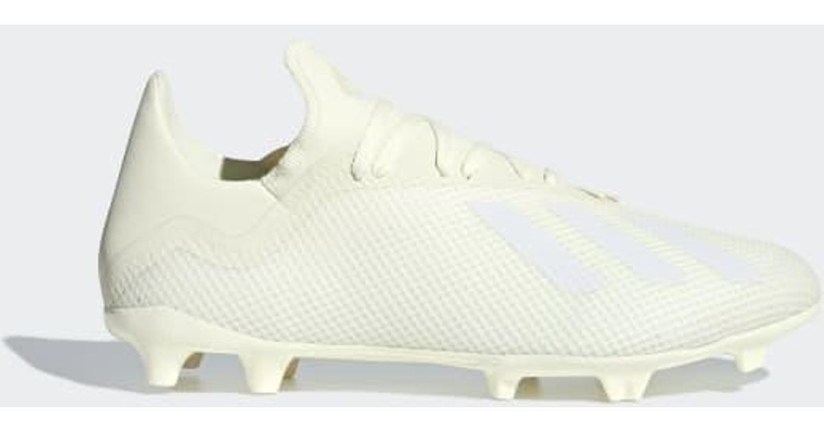 pretty nice 4316d f863a Lyst - adidas X 18.3 Firm Ground Cleats in White for Men