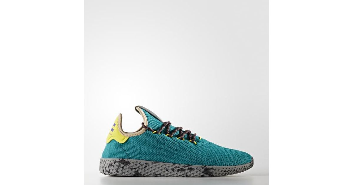 eba5d28f3d105 Lyst - adidas Pharrell Williams Tennis Hu Shoes in Purple for Men