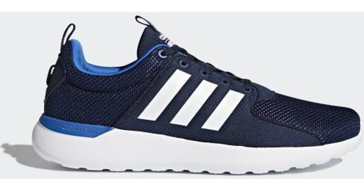 innovative design 9f9c2 aa01d Lyst - Adidas Cloudfoam Lite Racer Shoes in Blue for Men