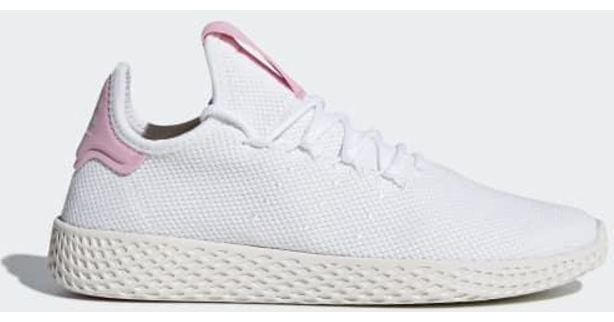 98bdb47d26b29 Lyst - adidas Pharrell Williams Tennis Hu Shoes in White