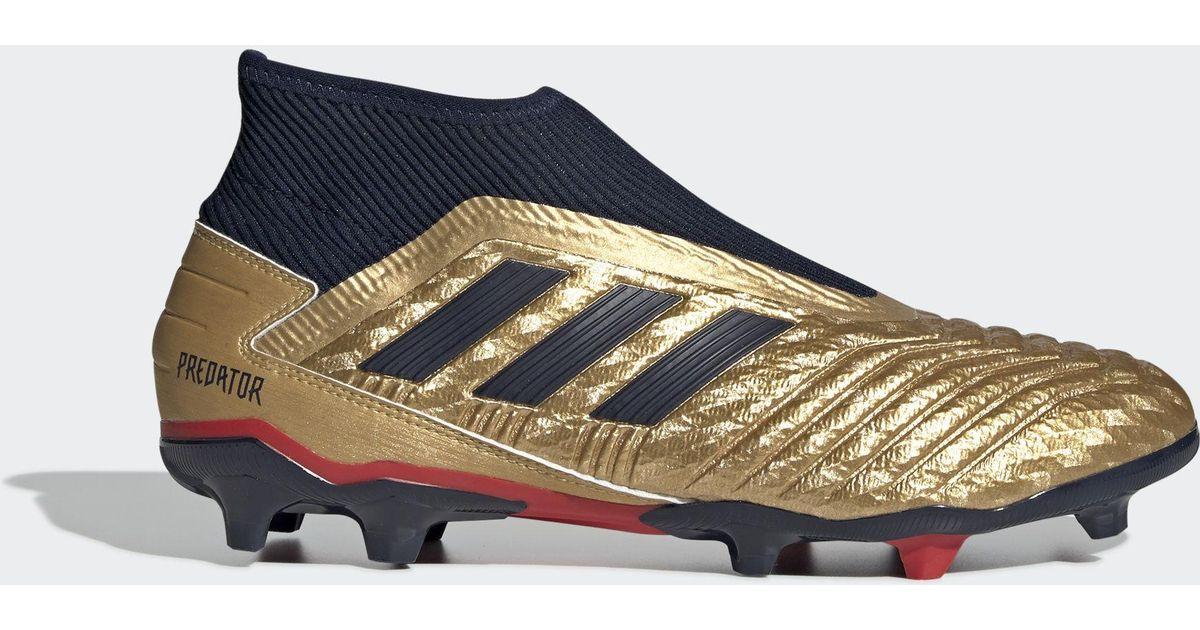 bf17692f4b3 adidas Predator 19.3 Firm Ground Zinédine Zidane Boots in Blue for Men -  Lyst