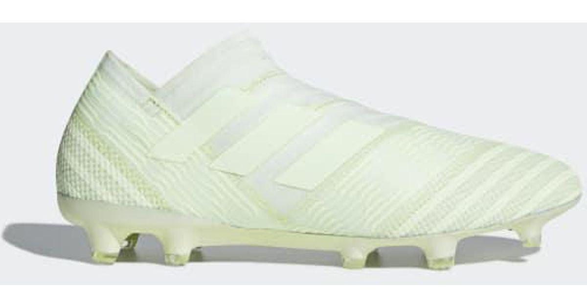 b0de779c3cfe Lyst - adidas Nemeziz 17+ 360 Agility Firm Ground Cleats in Green for Men