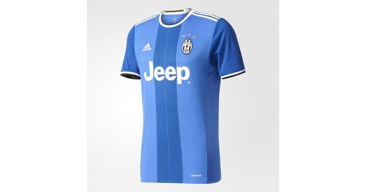 huge discount 9faea 71be1 Adidas - Blue Juventus Away Jersey for Men - Lyst