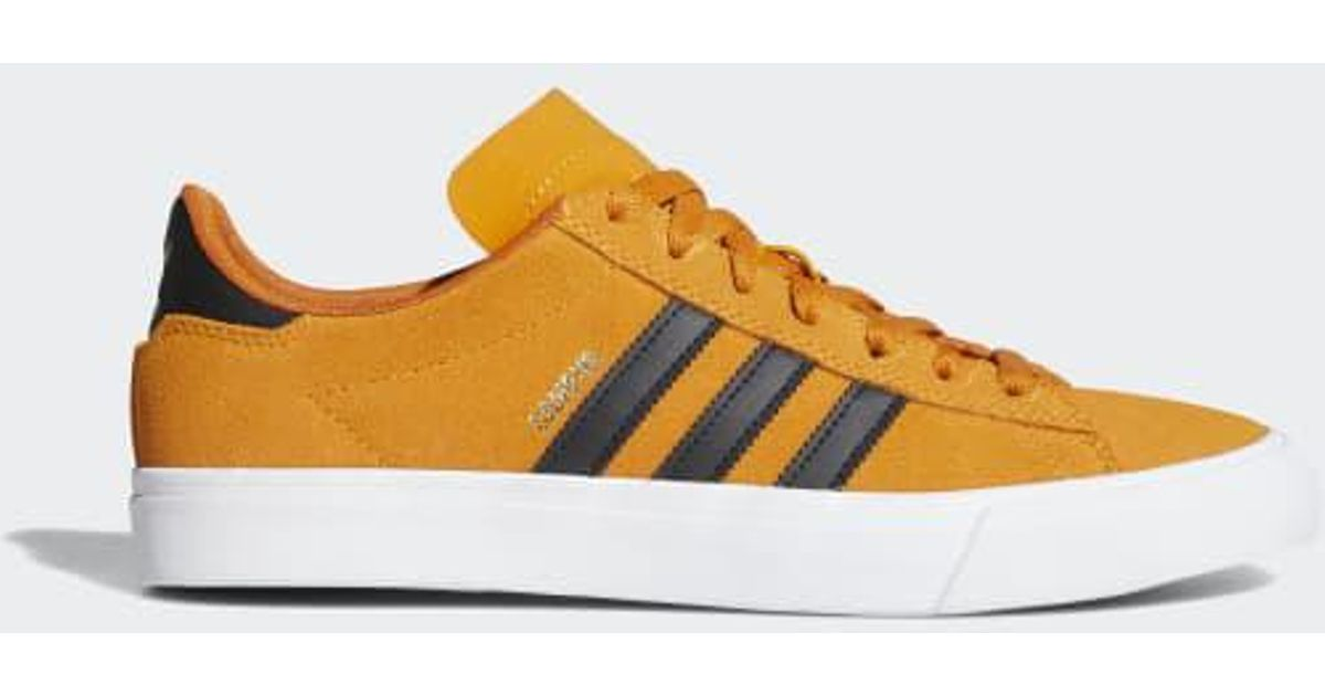 Lyst - adidas Campus Vulc Ii Shoes in Yellow for Men dea54189a