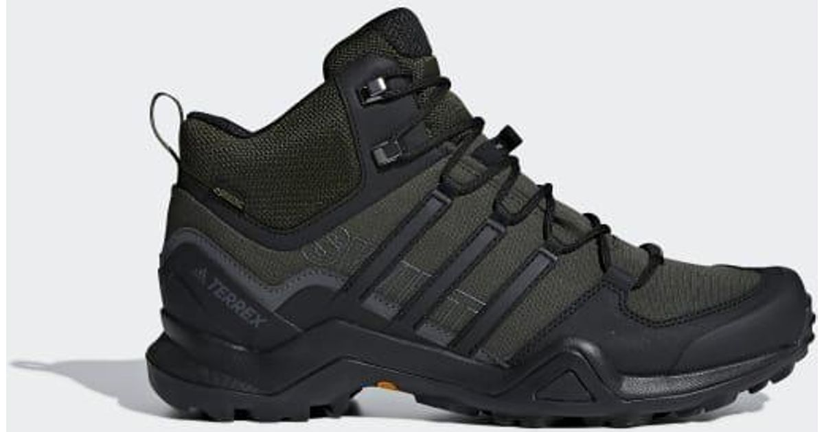 ce9839320 Lyst - adidas Terrex Swift R2 Mid Gtx Shoes in Green for Men