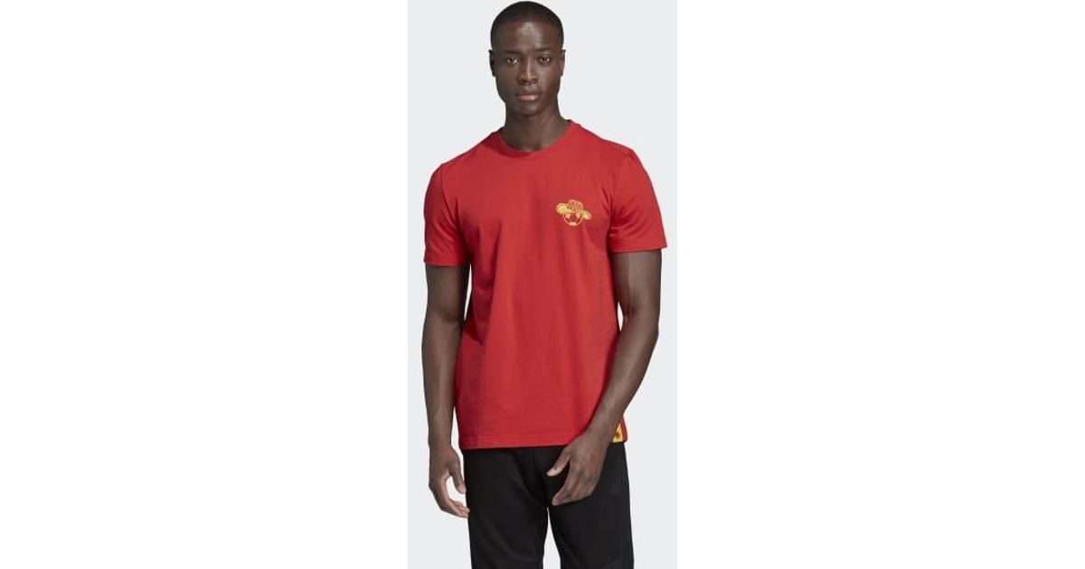 3d531154e Lyst - adidas Colombia Seasonal Special Graphic Tee in Red for Men