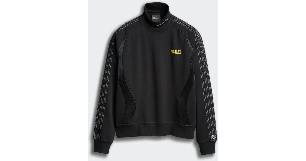 a7f653efa31 adidas Originals By Aw Wangbody Sweatshirt in Black - Lyst