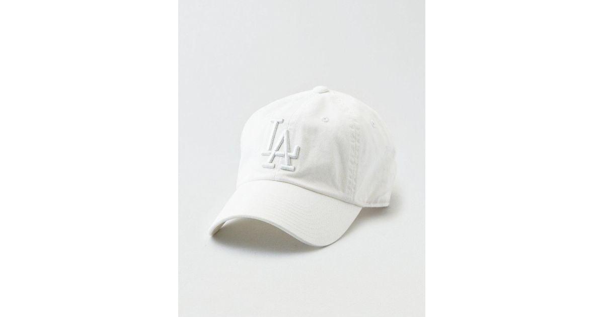 429c8aa077f Lyst - American Eagle American Needle La Dodgers Baseball Hat in White for  Men