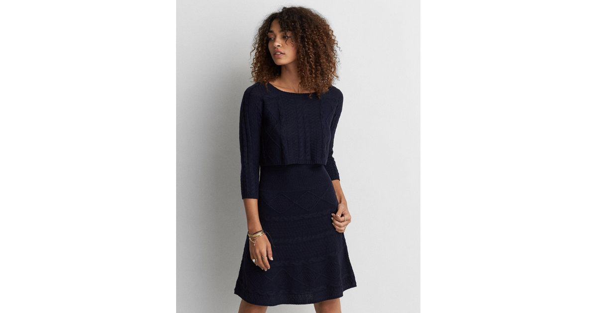83343277de7 American Eagle Sweater Dress - Dress Foto and Picture