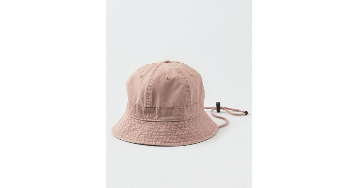 a521bdd445c Lyst - American Eagle Ae Bucket Hat in Pink for Men