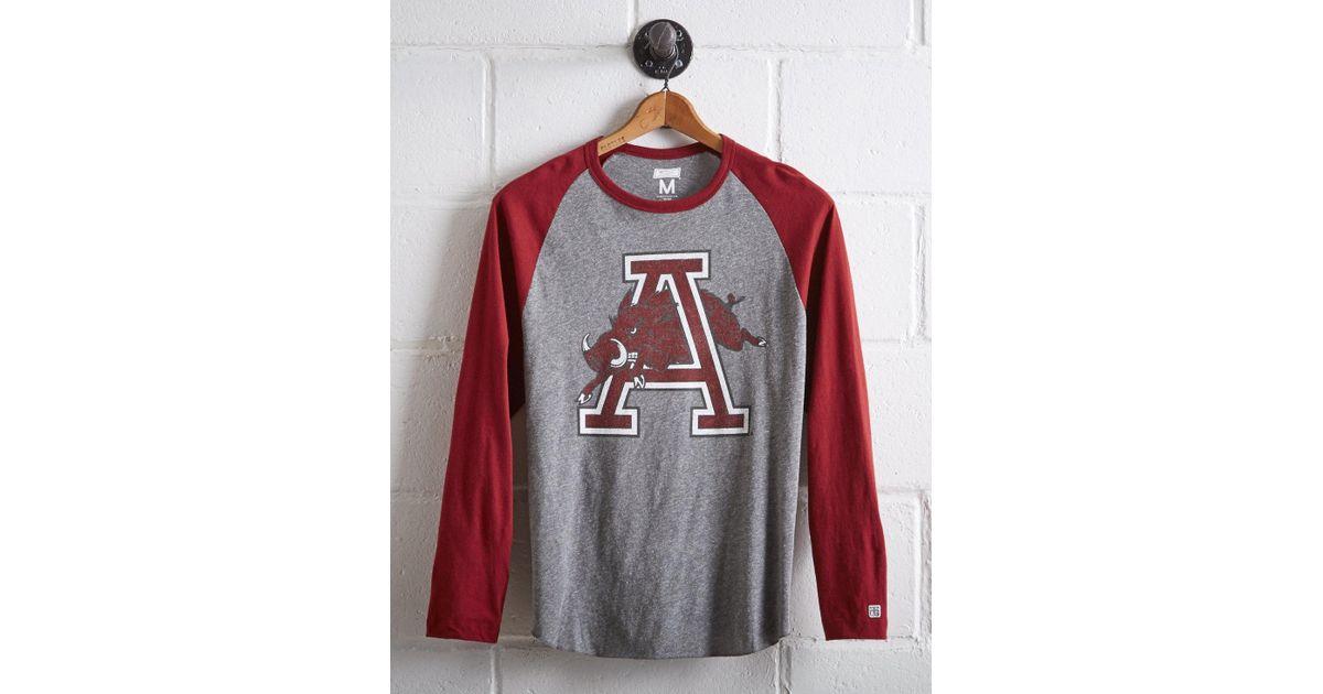 official photos 8bc98 b3114 Tailgate - Gray Men's Arkansas Baseball Shirt for Men - Lyst