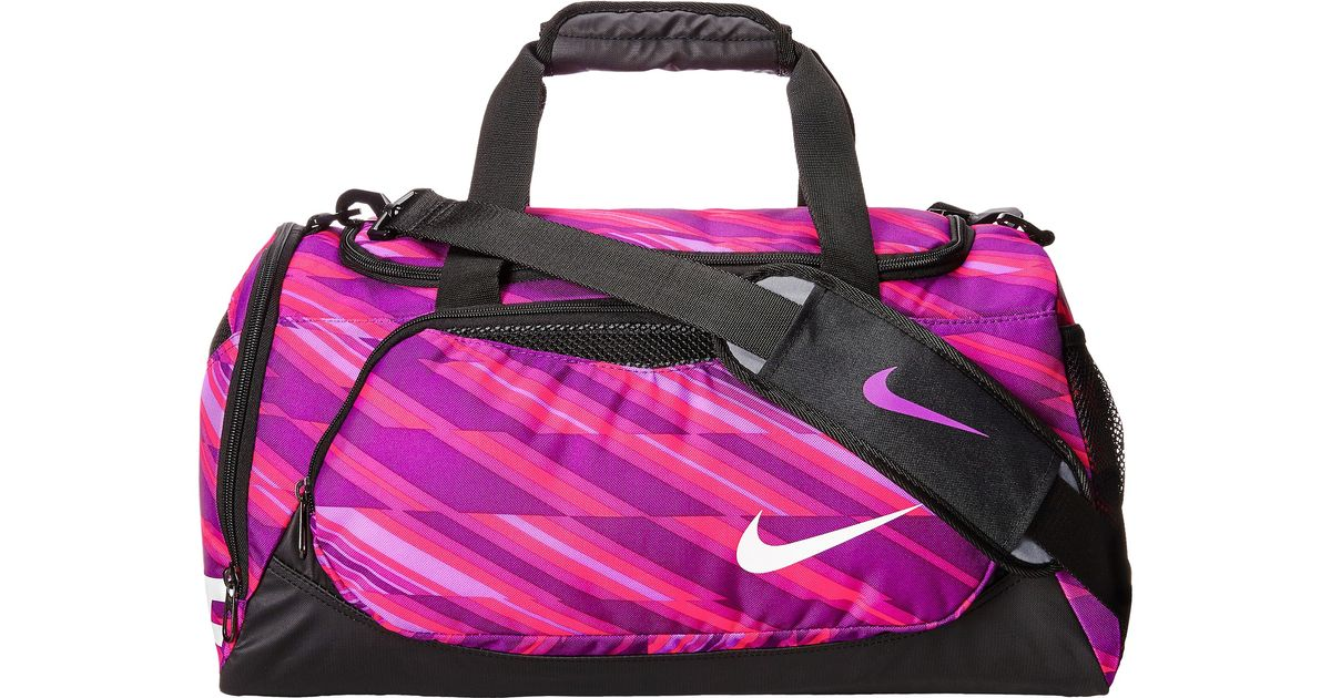 87c51a54d00 Lyst - Nike Young Athletes Team Training Small Duffel in Purple
