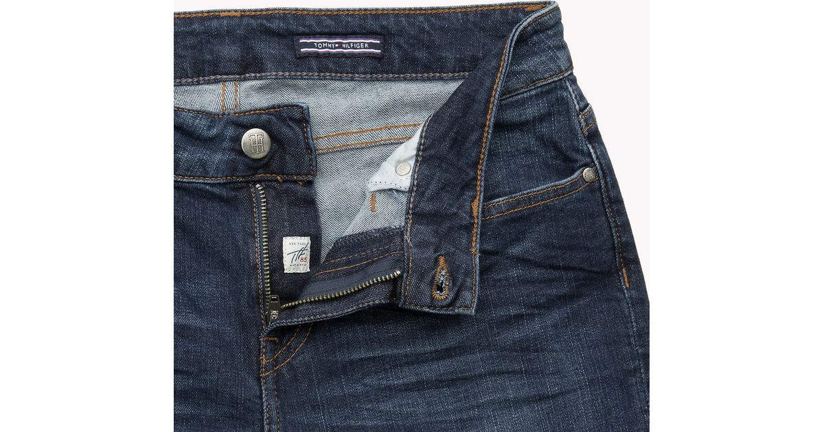 0df533da9cd Tommy Hilfiger Madrid Straight Fit Jeans in Blue - Lyst