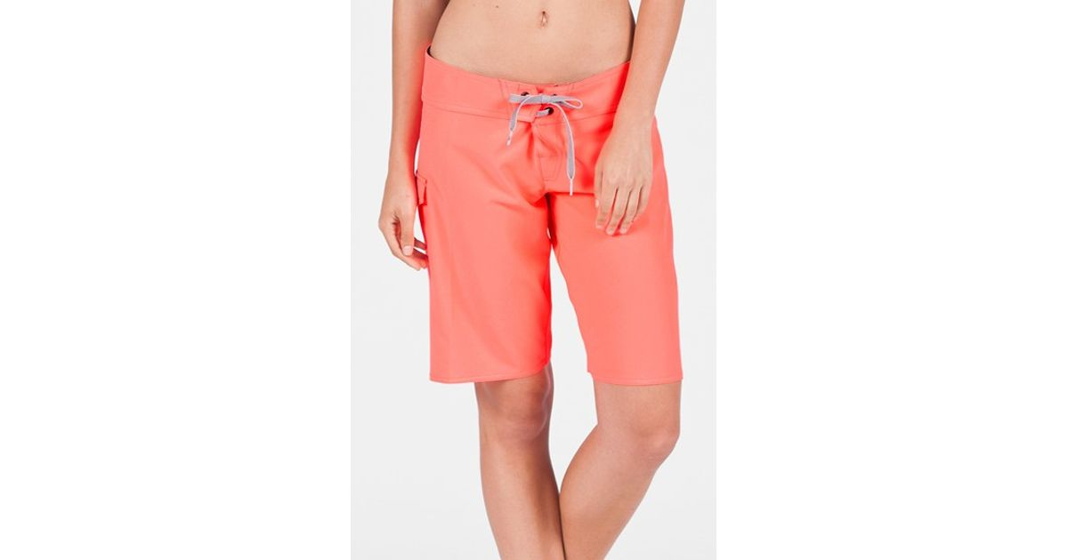 087d589a03 Lyst - Volcom 'simply Solid 11' Board Shorts in Pink