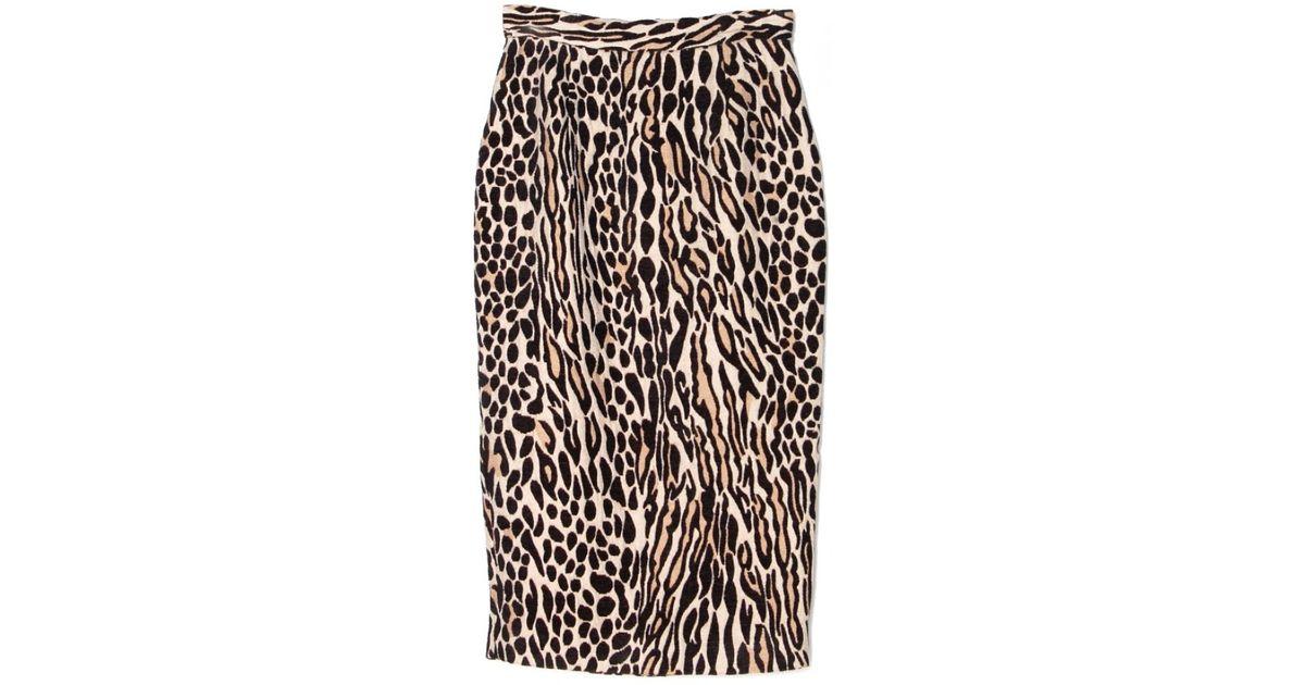 2261d1c60982e961d00002a69401e885 Leopard Pencil Skirts Print Skirt