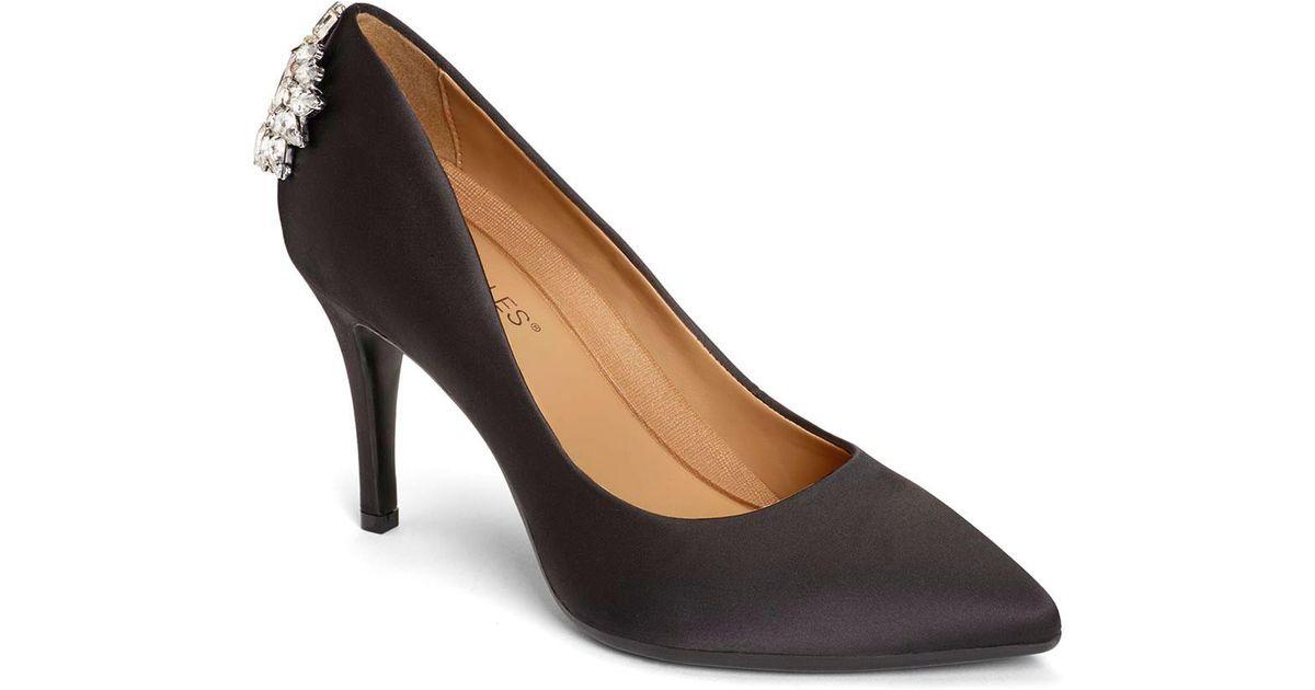 b8f9a3e3efa Lyst - Aerosoles Deans List Heels in Black