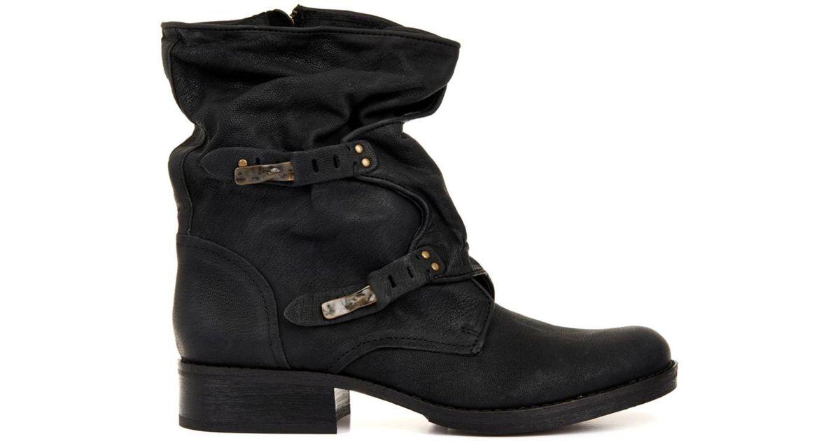 cba0281906907a Lyst - Sam Edelman Ridge Leather Boots in Black