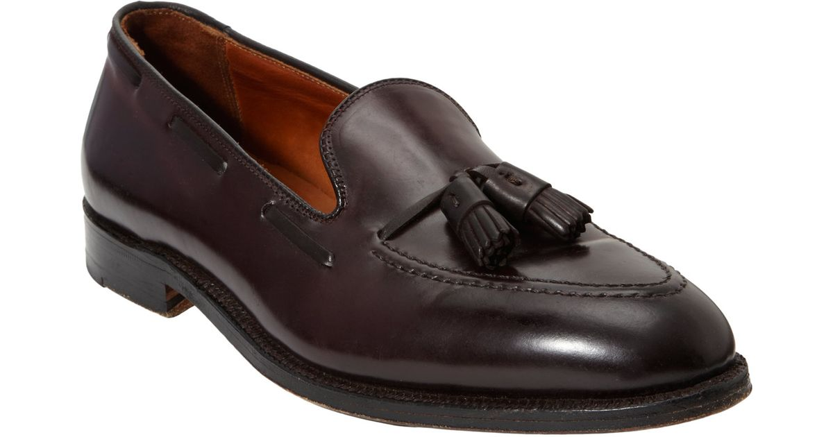 Alden Apron-toe Tassel Loafers in Brown for Men