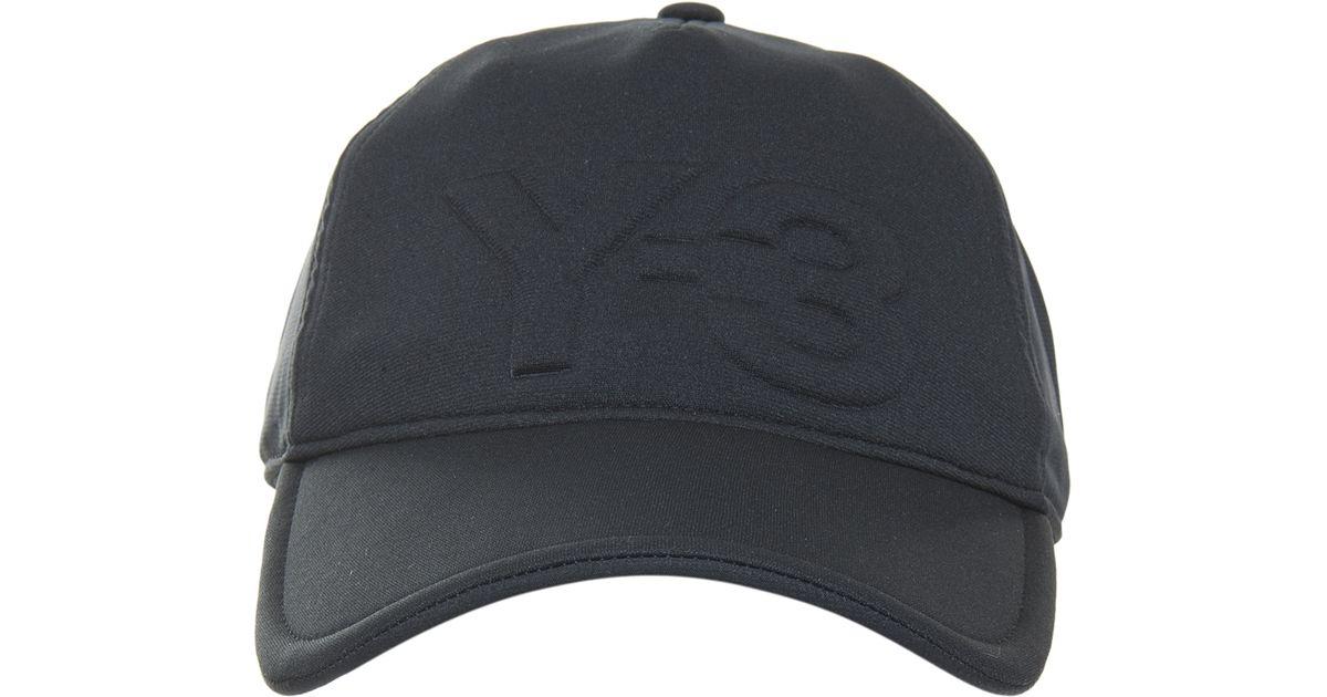 884c76ae9ca Lyst - Y-3 Neoprene Cap in Black