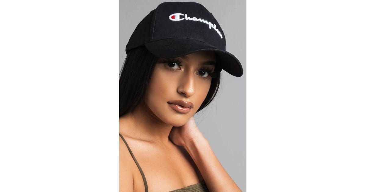e9aa2cc9867000 Champion Classic Twill Hat in Black for Men - Lyst
