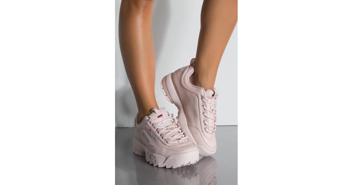 f495057320d Fila Womens Disruptor Ii Premium Sneaker - Lyst