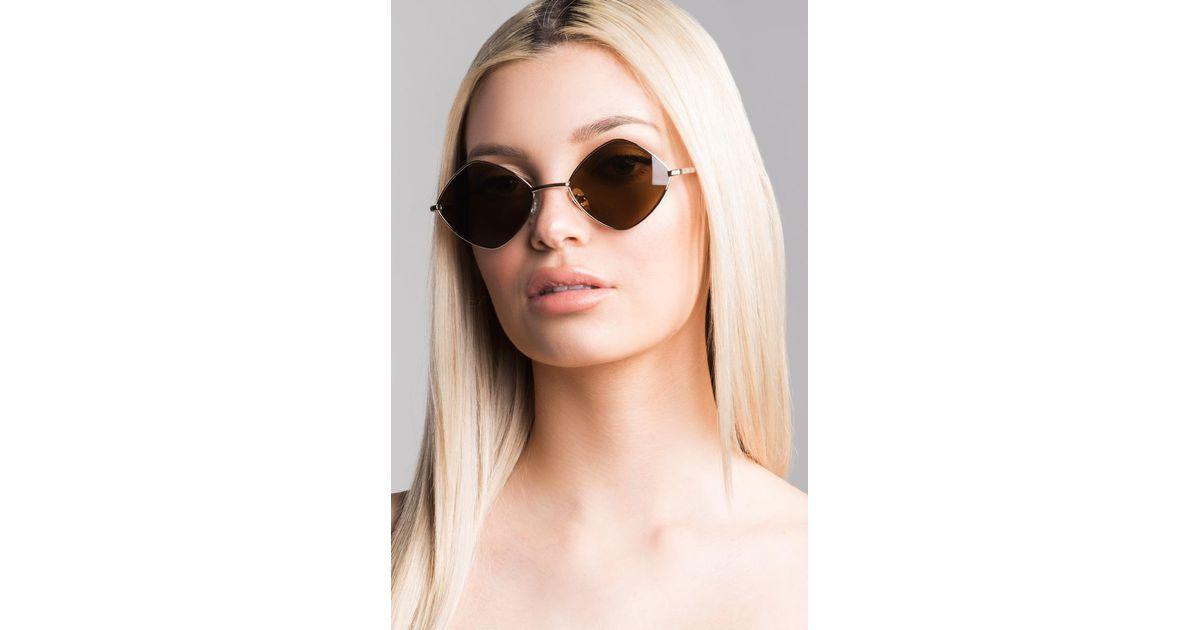c44e260d4a Lyst - Akira Boom Boom Sunglasses in Brown